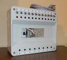 OMRON CPM1A 20CDR A V1 & CIF01 in BOX SIMULATOR SIGNALLER+ CABLE COMMUNICATION