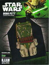 Star Wars Boba Fett Be The Character Adult One-Size Polyester Apron, NEW SEALED