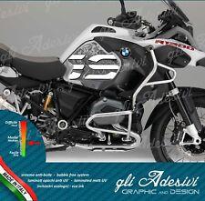 2 Adesivi Fianco Serbatoio Moto BMW R 1200 gs adventure LC 2018 world map b/w