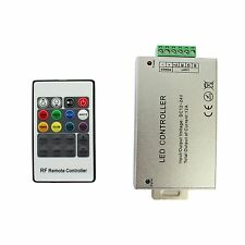 20 Key RF Remote Wireless RGB Controller DC 12V 12A for SMD 5050 3528 LED Strip