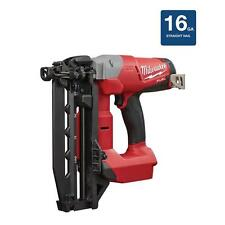 Cordless Compact Electric 16 Gauge Straight Finish Nailer Nail Gun Lithium Ion