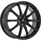 18x8 Black Wheel Platinum Flux 435 5x112 40