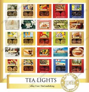 Yankee Candle - TEA LIGHTS - You Pick (1) Box of 12 - Many Discontinued Scents!!