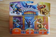 Pack 3 Figurines Skylanders Giants  - XBOX 360 - PS3 - WII