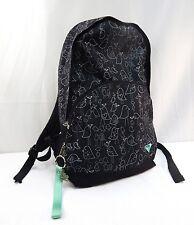 ROXY Quiksilver Backpack Black Teal Shoulder Bag