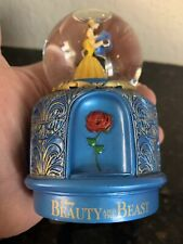 Beauty and the Beast The Broadway Musical Snowglobe Disney Snow Globe