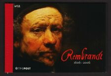 Netherlands #1253 Withdrawn Rembrandt Booklet, cat. $ 80.00