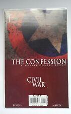 Civil War The Confession (2007) Marvel Comic Book VF