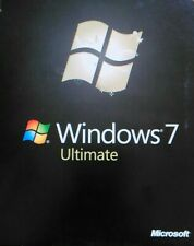 Windows 7 Ultimate 64 Bit with SP1 Full Version Install DVD w/ Product Key