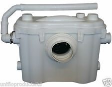 UNIFLO SLIM MACERATOR PUMP, EXCHANGE SANIFLO 22mm OUTLET TOILET,SHOWER & BASIN.
