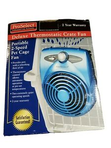 Proselect Portable 2 Speed Pet Cage Fan