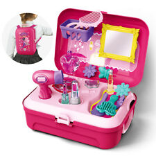 Neu Make-up Spielzeug Mädchen Beauty Kinder Friseur Kosmetik Schminkset Geschenk