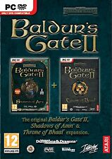 Baldurs Gate 2 Collection II Shadows Of Amn and Throne of Bhaal expansion PC