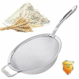 Stainless Steel 18/8 Mesh Strainer, 30 Mesh Extra Fine Quinoa Sieve, with