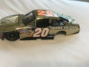 2008 Tony Stewart #20 Elite Home Depot WHITE GOLD Camry 1/24 Diecast Car