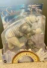 HIS DARK MATERIALS THE GOLDEN COMPASS KING RAGNAR STURLUSSON ICE BEAR NEW IN BOX