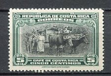 35373) COSTA RICA 1937 MNH** National Exposition - Donkey