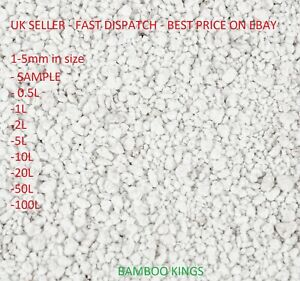 PREMIUM GRADE Perlite 1-5mm Mixing - compost hydroponic growing 0.5L-100L