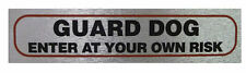 Unbranded Dog Adhesive Decorative Plaques & Signs