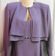 Special Occasion Full Length Dress w/ jacket After Dark Women's 6 Worn Once EUC