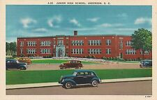 Junior High School in Anderson SC Postcard