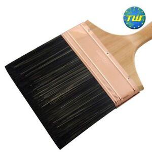 6in Plaster Water Brush - Wooden Handle Plasterers Splash Brushes 150mm