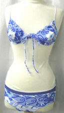Abbigliamento blu senza marca con spalline per il mare e la piscina da donna