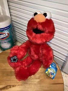 "Vintage 1993 F.A.O. Schwarz 13"" Applause Plush Elmo Doll Sesame Street W/ Tags"