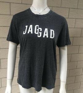 Jaggad Ladies Short Sleeve Logo Tee Shirt Workout Casual Crew T-shirt Tops XS-L