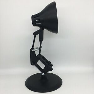 DESK LAMP PIXAR STYLE OVER 12 INCHES TALL BLACK BIOPLASTIC  (NO LIGHT)