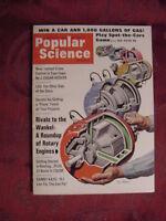 POPULAR SCIENCE Magazine January 1967 Rotary Engine Danny Kaye J. Edgar Hoover