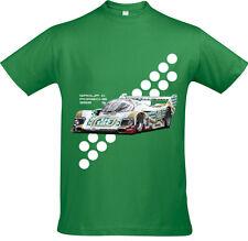 Retro LE MANS 24 H T-Shirt-Tic Tac 962 GRUPPO C design
