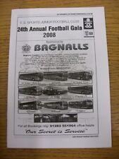 2008 Programme: TS Sports Junior - Annual Football Gala, Boys & Girls, Tournamen