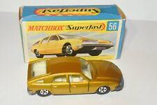 Vintage Matchbox Superfast BMC 1800 Pininfarina Original Box Mint Lesney 1969