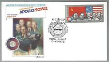 First Day Covers - RUSSIA - Apollo/Soyuz - Set of 4 - Scott #4338-41