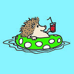 RubberHedgehog Rubber Stamps