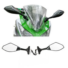 Rear View Side Mirror LED Turn Signals Fit For Kawasaki ZX750/ZX7/ZX-7R 99-02