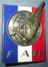 Force d'Action Rapide, 43 X 34 mm, opaque, épingle rivetée