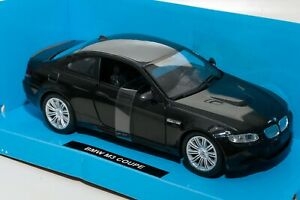 BMW M3 (E92)Coupe Black, NewRay 71053, scale 1:24, model car gift for him
