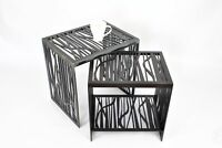 Modern Unique Contemporary  Handmade Designer Coffee Table Black FOREST
