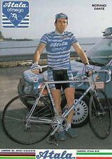 DANTE MORANDI cyclisme cp postcard cartolina Ciclismo radsport team ATALA 87