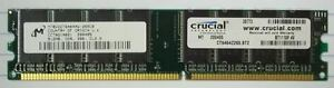 Crucial 512MB PC2100 DDR-266MHz CL2.5 184-Pin DIMM * MT8VDDT6464AG-265CB Plastic
