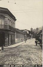 COLOMBIA MEDELLIN CALLE DE JUNIN E71 REAL PHOTO FOT. OBANDO