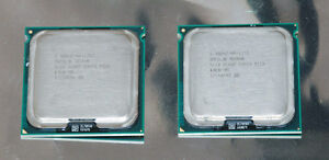 Pair of Intel Xeon 5130 Dual-Core 2.0GHz LGA771 CPU Processors - SLABP