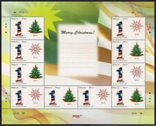 [KKK] 2010 MALAYSIA PERSONALISED STAMP CHRISTMAS (SHEETLET) MNH