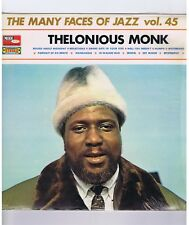 LP THELONIOUS MONK MANY FACES OF JAZZ VOL 45