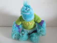 "Disney Sulley Monster University 9"" Plush Stuffed Animal Frat Pack T-Shirt"