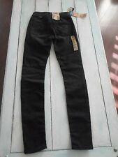 Women's Silver SUKI High Rise Relaxed Hip & Thigh Skinny JOGA Jeans 24x31 NWT'S