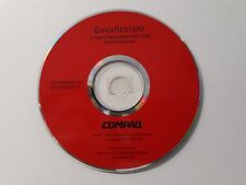 Genuine Compaq Presario Model 2281/2286 Quick Restore Disk