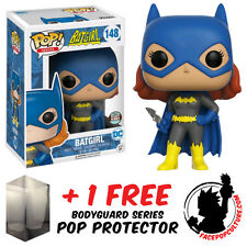 FUNKO POP DC BATGIRL HEROIC SPECIALTY STORE EXCLUSIVE + FREE POP PROTECTOR